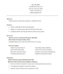 Wonderful Blank Resume Templates For Teachers Images Example