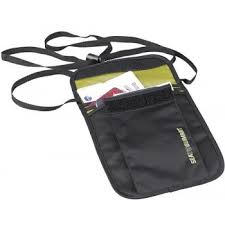 <b>Кошелек на шею Sea To Summit</b> Neck Pouch 3 black (STS ...