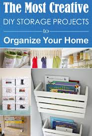 The Most Creative Diy Storage Projects To Organize Your Home