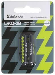 <b>Батарейка Defender</b> алкалиновая <b>AAA</b> LR03 — купить по ...