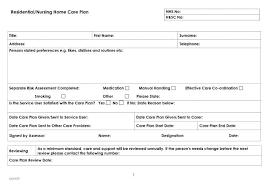 Sample Home Care Plan Of Care Pdf Instalacionesdm Com