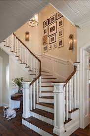 must try stair wall decoration ideas 1