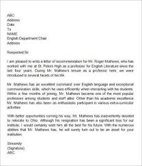 Tenure Recommendation Letter From Student Example Pin By Template On Template Teacher Letter Of