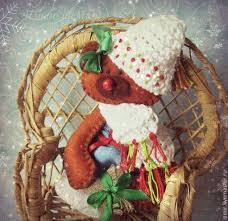 Снежок! Я жду тебя с подарком :-) <b>Блокнот</b> ручной работы Новый ...