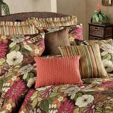 tropical duvet cover sets queen with purple flower pattern with luxury bedding and lightweight
