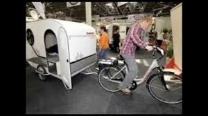 Bike Camper Trailer Wide Path Camper Is A Caravan For The Cycling Set Youtube