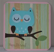 Diy Kids Birthday Card Latest Ideas Diy Children Birthday Cards Collection Owl For Handmade
