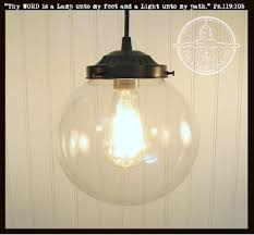 large glass pendant light. Glass PENDANT Light Large - The Lamp Goods Pendant