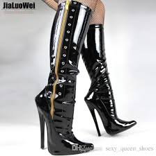 Boot fetish heel shoes stiletto