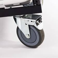 fan back folding chair trolley. stock #78062 - samsonite 56496 2000 series fanback chair trolley fan back folding