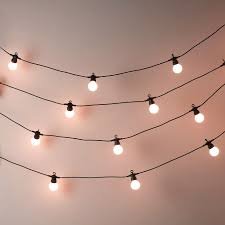 Fairy Lights Price In India Bistro Bulb Fairy Lights 20 Bulbs The White Company