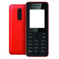 Body Housing for Nokia 107 Dual SIM - Red