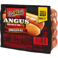 ball park angus original beef franks 14 oz 8 count