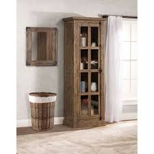 tall accent cabinet. Unique Tall Hillsdale Furniture Tuscan Retreat  Tall Single Door Cabinet With Accent E