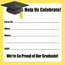 more article from graduation party invitation template