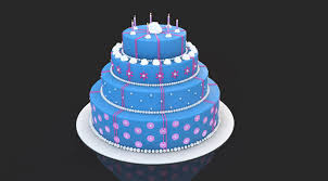 Free C4d 3d Model Cake The Pixel Lab