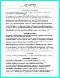 Construction Superintendent Resume Templates Construction Superintendent Resume Examples How To Be A Construction
