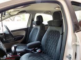 My Fiat Linea T-Jet gets Alcantara & Leather interiors - Team-BHP