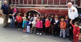 Young firefighters in training in Tuxedo