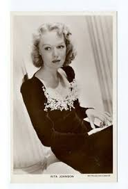 k2823 - film actress Rita Johnson - postcard   #919540614