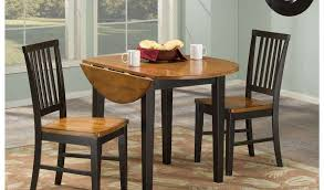 nice round drop leaf table and chairs 32 small beautiful superb leather dining about remodel home of 1024x600