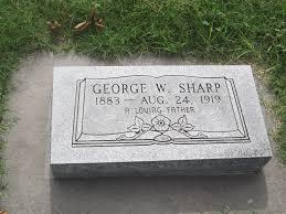 George Washington Sharp (1883-1919) - Find A Grave Memorial