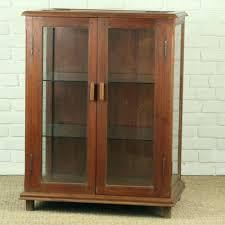 display cabinet with glass doors case sliding black corner cabinets door locks
