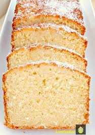 Moist Coconut Pound Loaf Cake Light Soft And Oh So Delicious