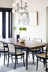 home tour a brooklyn inspired home in l a minimalist dining roomkitchen