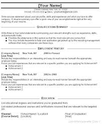 Entry Level Resume Template Word Impressive Entry Level Resume Template Cteamco