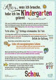 Poster Mit Tollem Zitat Zur Bedeutung Des Kindergartens Für Die