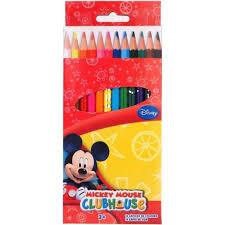 Crayon De Couleur Mickey Achat Vente Pas Cher