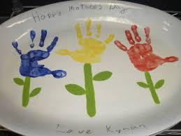 hand print pottery gifts kids can make south s mamas