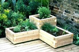 herb garden box herb garden box ideas tiered planter box tiered herb garden planter making a herb garden box