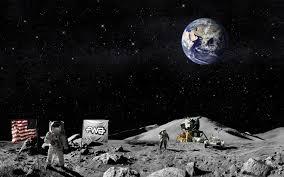 Moon Earth Wallpaper High Walls ...