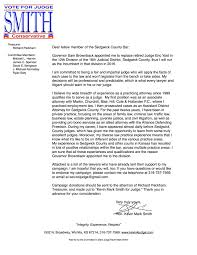 endorsement letter paid for by the committee to elect judge endorsement letter paid for by the committee to elect judge kevin mark smith richard peckham treasurer