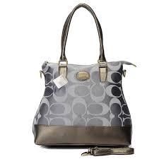 coach legacy candace medium khaki satchels azg  coach in signature medium  grey satchels bbv