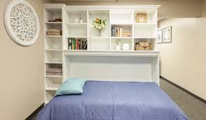 custom designed murphy wall beds
