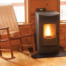 Pellet Stove with 40 lb. Hopper and Auto Ignition-12327 - The Home Depot