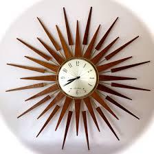 large sunburst wall clock tyres2c
