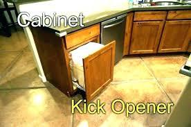 Kitchen cabinet trash can Waste Bins Sliding Trash Can Under Sink Garbage Drawer Sliding Under Cabinet Trash Can Kitchen Cabinet Trash Drawer Chandigarhhotels Sliding Trash Can Under Sink Garbage Drawer Sliding Under Cabinet