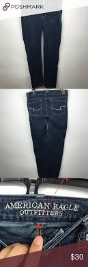 American Eagle Jean Size Chart American Eagle Skinny Jeans Pre Owned Excellent Condition