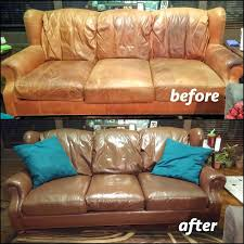 how to re worn leather couch out repair sofa fixing