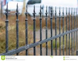Cast Iron Fence Designs Beautiful Wrought Fence Image Of A Decorative Cast Iron