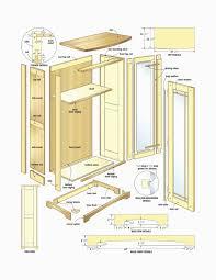Hoosier Cabinet Plans Unique Cabinet Plans Arcade Pdf Kitchen Free