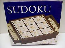 Wooden Sudoku Game Board Deluxe Wooden Sudoku Game With Puzzles and Instruction Booklet eBay 31