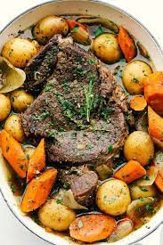 melt in your mouth pot roast recipe