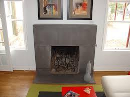 concrete fireplace surround austin texas
