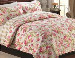 100% cotton Pink Patchwork quilting bed sheet bed linen bed cover ... & 100% cotton Pink Patchwork quilting bed sheet bed linen bed cover bedspread  comforter bedding set quilt,sabanas ropa de cama-in Bedding Sets from Home  ... Adamdwight.com