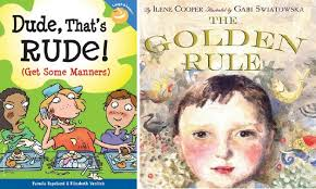 books about good manners for kids and pas